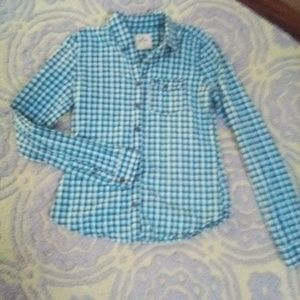 Button up Hollister top